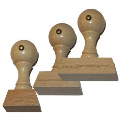 Holzstempel 22 mm • bis 50 mm Breite individuell gestalten