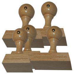 Holzstempel 35 mm • bis 100 mm Breite individuell gestalten