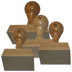 Holzstempel 45 mm • bis 70 mm Breite individuell gestalten