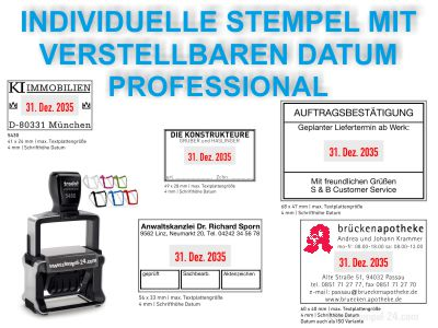 DATUMSTEMPEL INDIVIDUELL PROFESSIONAL