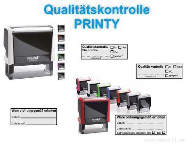 • Stempel • Qualitätskontrolle Trodat Printy