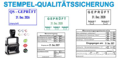• Kontrollstempel • Qualitätssicherung Trodat Professional