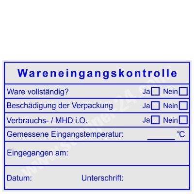 Stempel Wareneingangskontrolle Mindesthaltbarkeitsdatum • Trodat Professional 5208 •