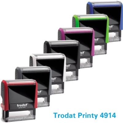Trodat Printy 4914 ( Stempelgröße 64 mm x 26 mm ) 7 Zeilen