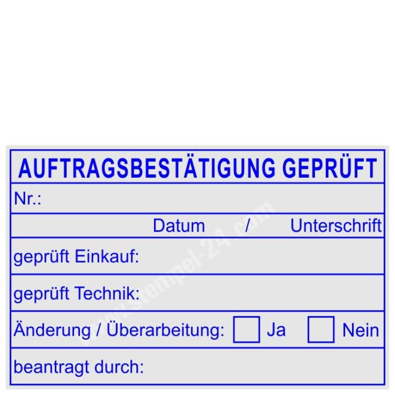 Trodat Professional 5274 Auftragsbestatigung Gepruft Stempel 24 Com