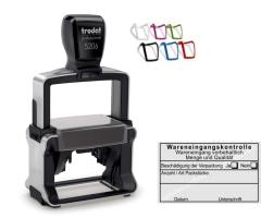 Stempel Wareneingangskontrolle Wareneingang vorbehaltlich Beschädigung der Verpackung • Trodat Professional 5206 •