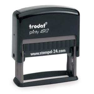 Trodat Printy 4917 (Stempelgröße 50 mm x 10 mm) 3 Zeilen