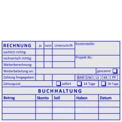 Stempel Rechnungspüfung Weiterberechnung • Trodat Professional 5212 •