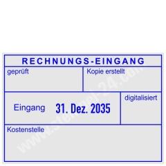 Kontierungsstempel Rechnung geprüft • Trodat Professional 5480 •