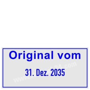 Stempel Original vom • Trodat Professional 5440 •