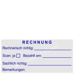 Stempel Rechnung geprüft • Trodat Professional 5204 •