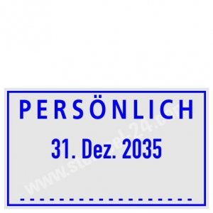 Stempel Persönlich • Trodat Professional 5430 •