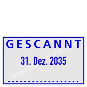 Stempel Gescannt • Trodat Professional 5430 •