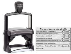 Stempel Wareneingangskontrolle Mindesthaltbarkeit Temperatur • Trodat Professional 5211 •
