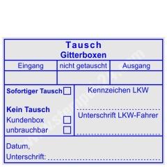 Stempel Tausch Gitterbox • Trodat Professional 5211 •