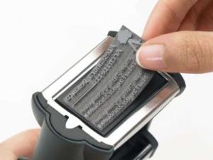Stempelplatte max. 116 x 70 mm • Trodat Professional 5212 •