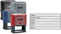 Stempel Rechnungsprüfung Verwendungszweck • Trodat Printy 4926 •
