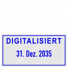 Stempel Digitalisiert • Trodat Professional 5430 •