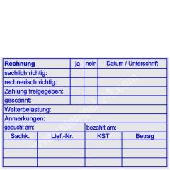 Stempel Rechnungsprüfung Weiterbelastung • Trodat Professional 5212 •