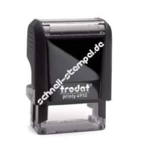 Trodat Printy 4910 (Stempelgröße 26 mm x 9 mm) 3 Zeilen