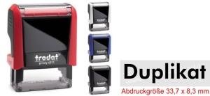Stempel Duplikat • Trodat Printy 4911 •