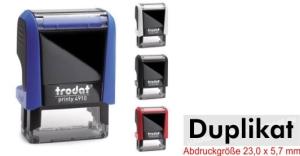 Stempel Duplikat • Trodat Printy 4910 •