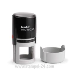 Trodat Printy 46050 Textstempel Rund ø 50 mm mit individueller Stempelplatte