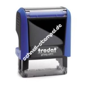 Trodat Printy 4911 (Stempelgröße 38 mm x 14 mm) 4 Zeilen