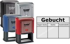 Stempel Trodat Printy Gebucht • Trodat Printy 4927 •