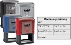 Stempel Trodat Printy Rechnungsprüfung Kostenstelle • Trodat Printy 4927 •