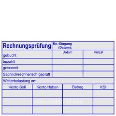 Stempel Rechnungsprüfung Kostenstelle Datum Weiterbelastung • Trodat Professional 5211 •
