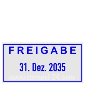 Stempel Freigabe • Trodat Professional 5430 •