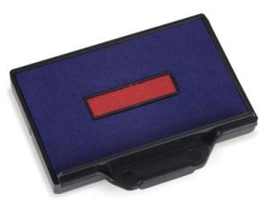 Stempelkissen 2-farbig für den Trodat Professional 5460-5460/L-5465 • Stempelkissen-Nr. 6/56/2 •