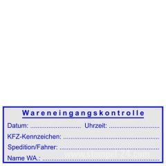 Stempel Wareneingangsstempel KFZ • Trodat Printy 4915 •