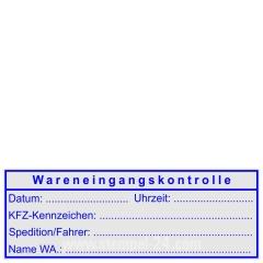 Stempel Wareneingangsstempel KFZ • Trodat Professional 5205 •