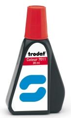 7011 Trodat Stempelfarbe für Papier in den Grundfarben