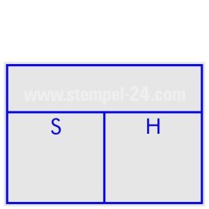 Kontierungsstempel Soll Haben  • Trodat Professional 5206 •