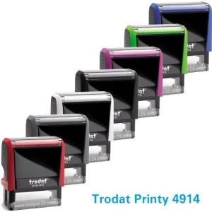 Trodat Printy 4914 (Stempelgröße 64 mm x 26 mm) 7 Zeilen
