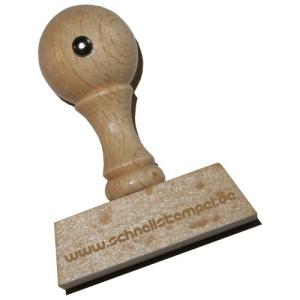Holzstempel 15 x 50 mm