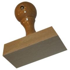 Holzstempel 45 x 70 mm