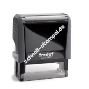 Trodat Printy 4913 (Stempelgröße 58 mm x 22 mm) 6 Zeilen