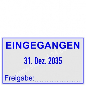 Eingangsstempel Freigabe • Trodat Professional 5440 •