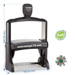 Individueller Kontierungsstempel Trodat Professional 5212 (Stempelgröße 116 mm x 70 mm)