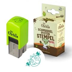 Stempel Olchis für Mädchen Schmuddelpfoten Stempel und Spiel motiviert das Händewaschen